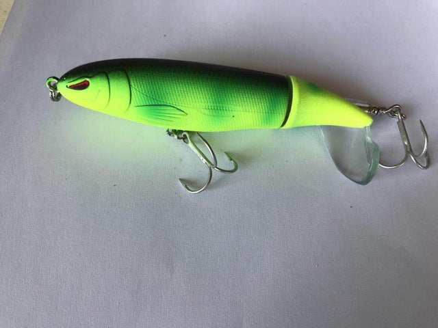 "3.5"" Topwater Plopper Style Lure"