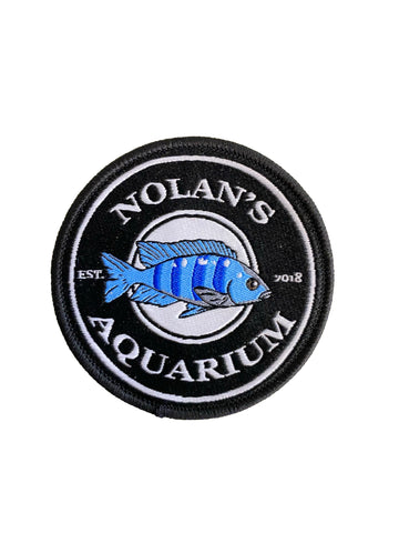 Nolan's Aquarium Commemorative Star Sapphire Patch