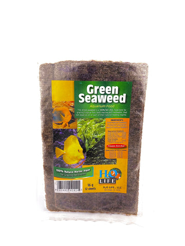 16G Green Seaweed for both Freshwater and Saltwater Fish