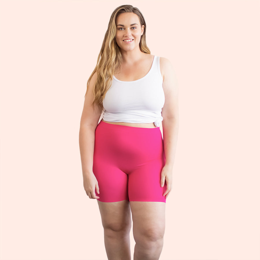 color:Pink|model:Austen is 5'8 and wearing M/L Short