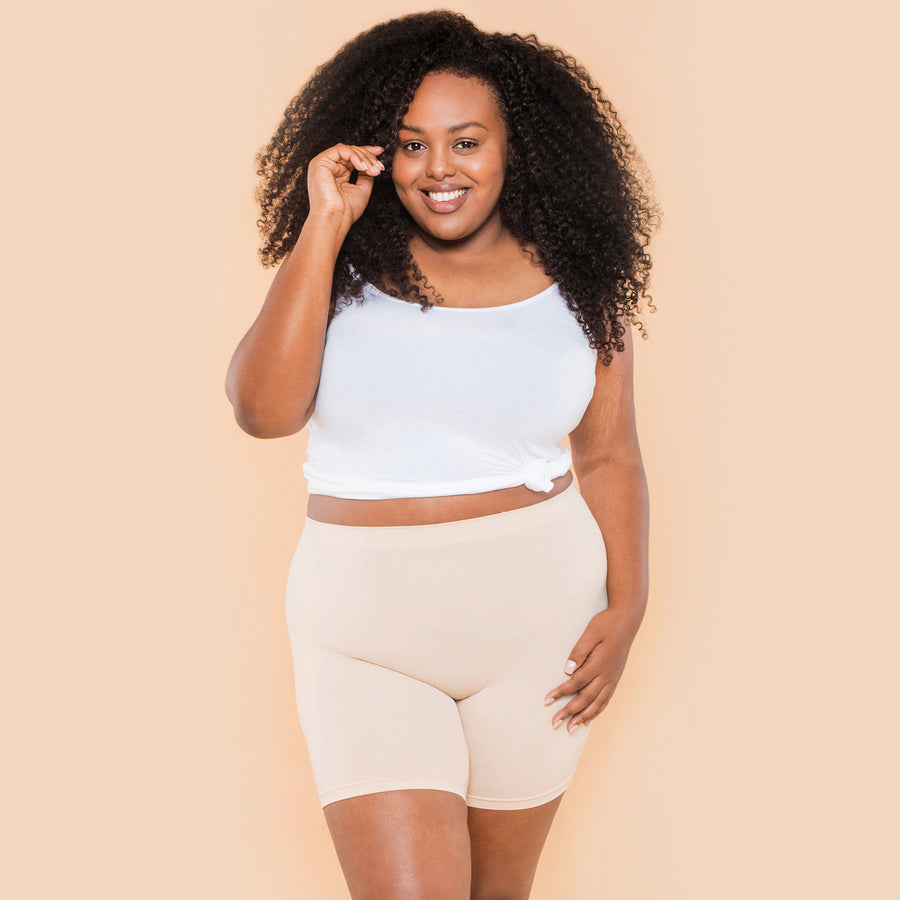 color:Beige|model:Bree is 5'8 and wearing L/XL Mid