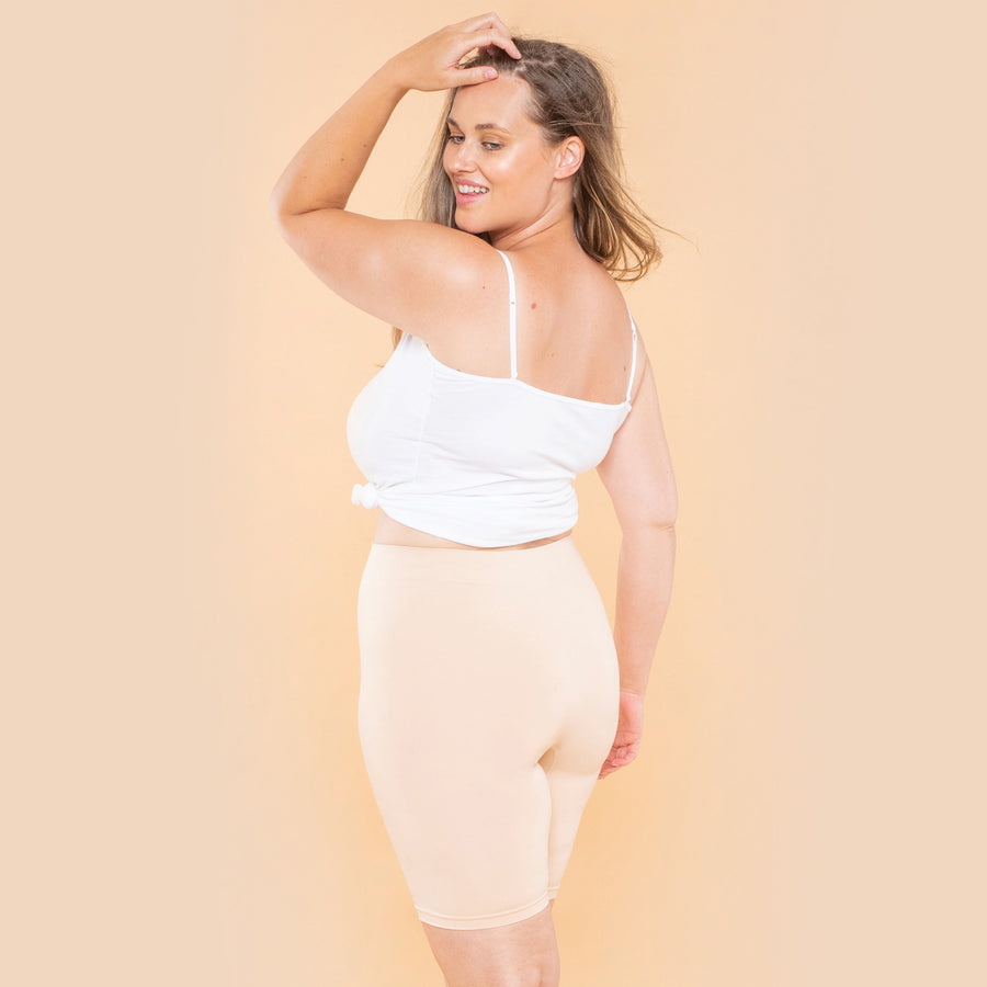 color:Beige|model:Austen is 5'8 and wearing M/L Long