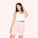 color:Light Pink|model:Meghan is 5'9 and wearing M/L Long