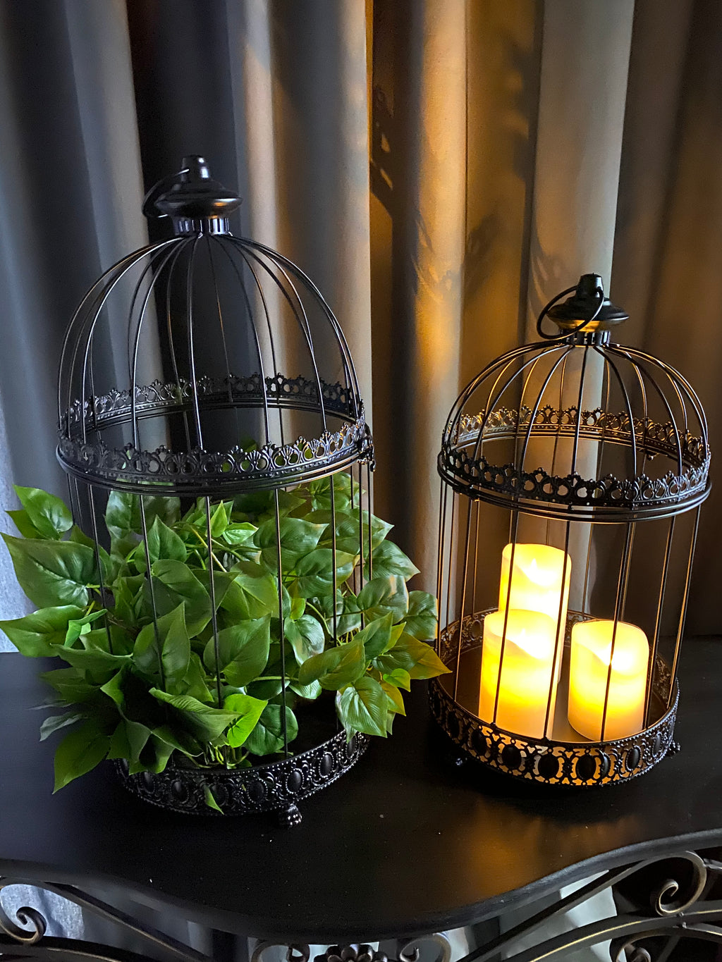 PLANT CAGES - SET OF 2