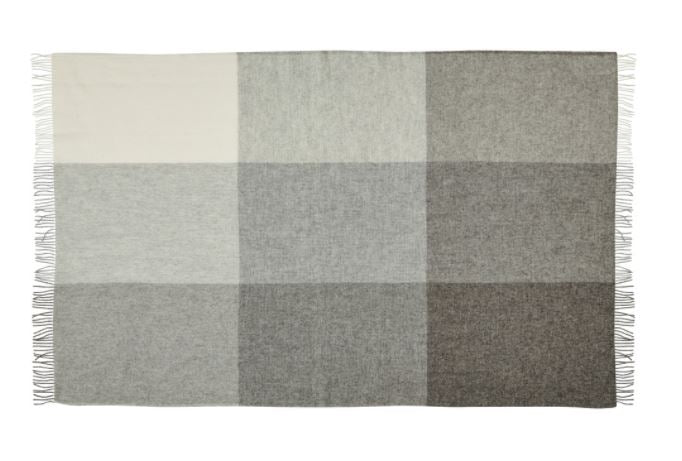 St Bathans WEAVE Throw - Charcoal