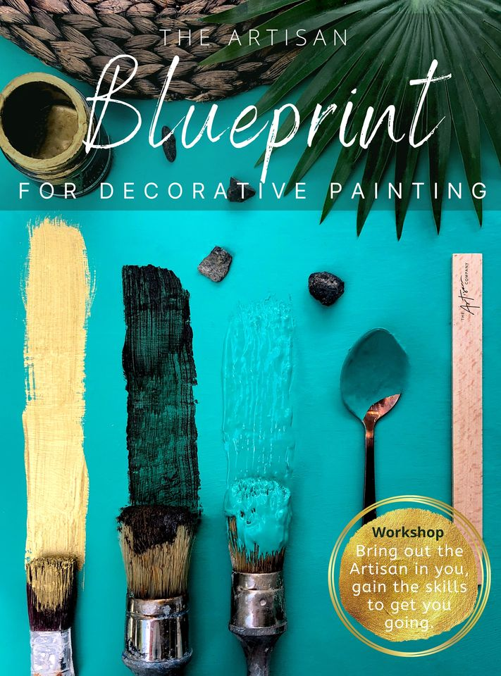 BLUEPRINT FOR DECORATIVE FINISHES - INTRODUCTORY WORKSHOPS, Saturdays, starting at 9.30am