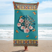 Psychic Chic Beach towels