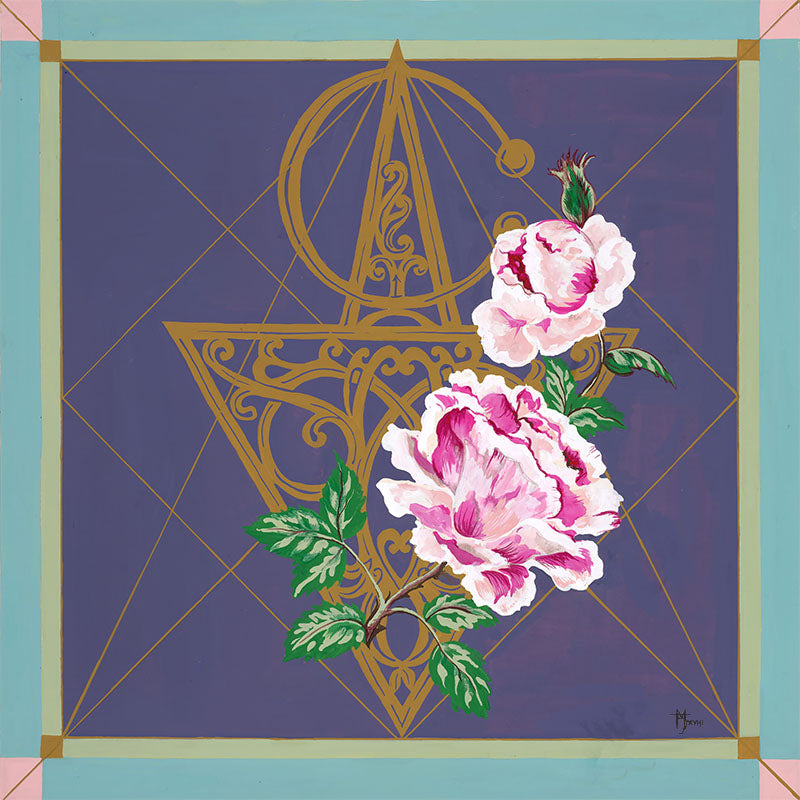 Moroccan Rose - Marie-Joie Hughes Artwork & Designs