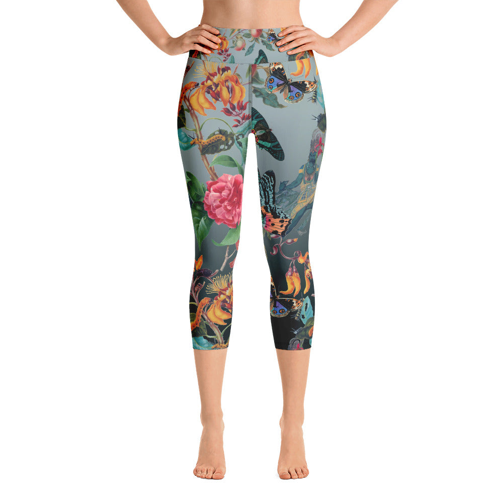 Xantia Spectra Yoga Capri Leggings- Magical Yogi Wear