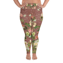 Load image into Gallery viewer, Tuscan Rose Magical Yogi Wear Plus Size Leggings