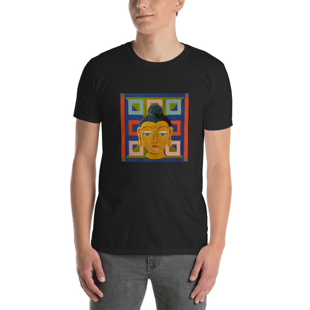 Magical Yogi Wear Unisex  Buddha Tee-Shirt - Marie-Joie Hughes Artwork & Designs