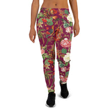 Load image into Gallery viewer, Fuchsia Val Floral women's joggers- Magical Yogi Wear