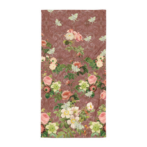 Tuscan Rose Beach Towel-Psychic Chic Home Furnishings