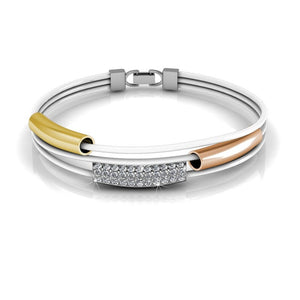 Tri-Bracelet Ft Swarovski Elements