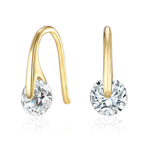 Earrings Ft Swarovski Elements -G