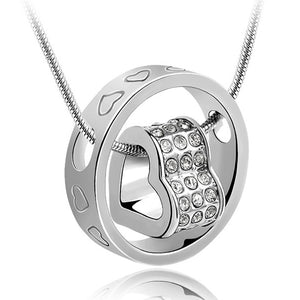 Love Infinite Pendant Necklace Ft Swarovski Elements