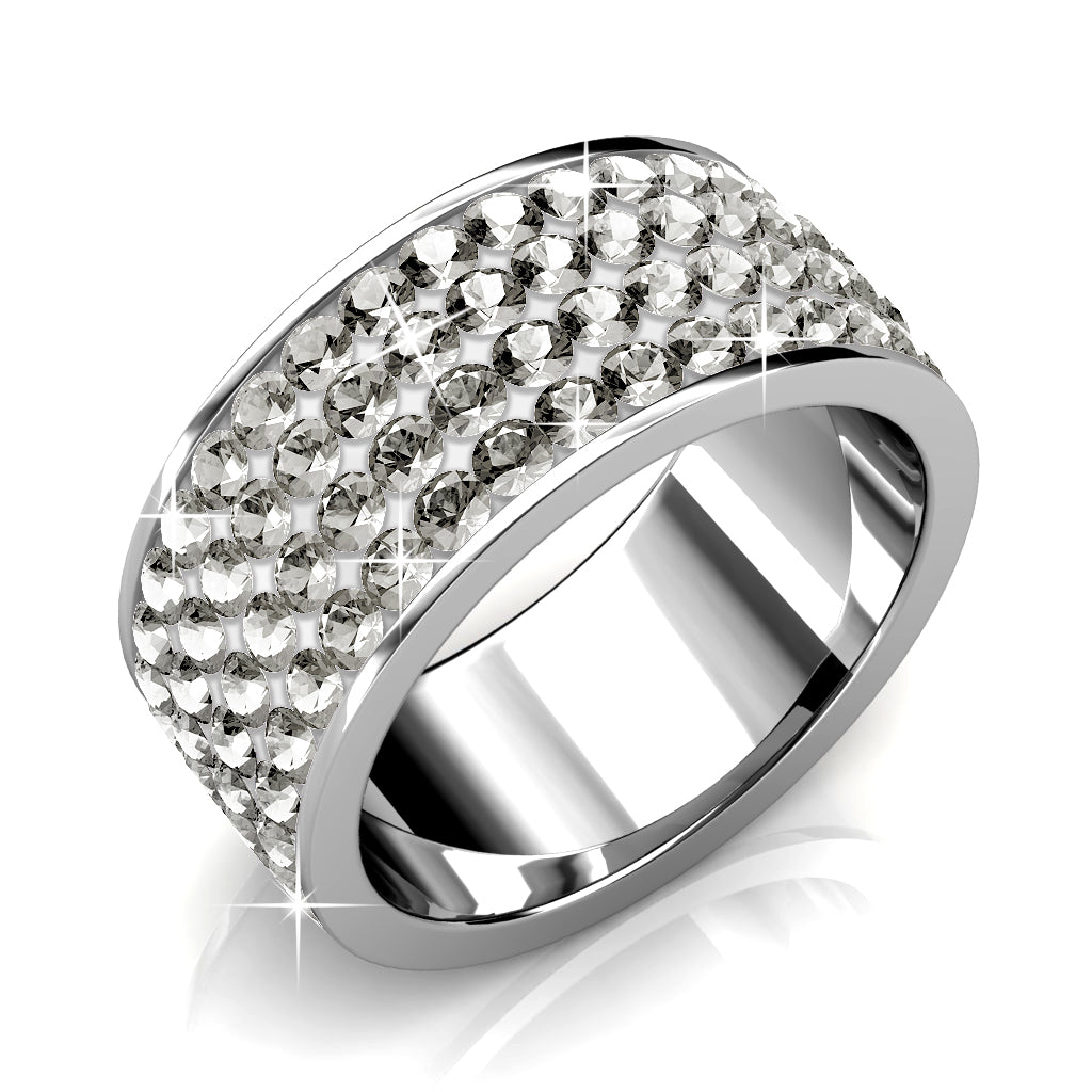 Premium Ring Ft Swarovski Elements