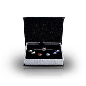 Interchangeable Pendant Necklace Box Set Ft Swarovski Elements