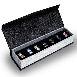 Deluxe 7 day Stud Earring Set Ft Swarovski Elements