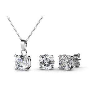 Matching Classic Elegance Set Ft Swarovski Crystals