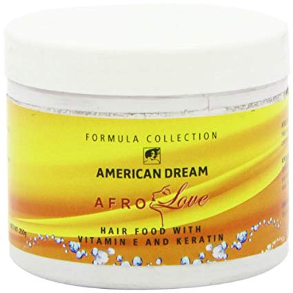 American Dream Afro Love Hair Food with Vitamin E and Keratin 250g