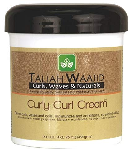 TALIAH WAJID CURLY CURL CREAM / HAIR CREAM / CURLY HAIR CREAM 16oz