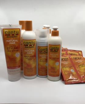Special Offers: Cantu  Shea Butter Natural Frizz Prepack Display