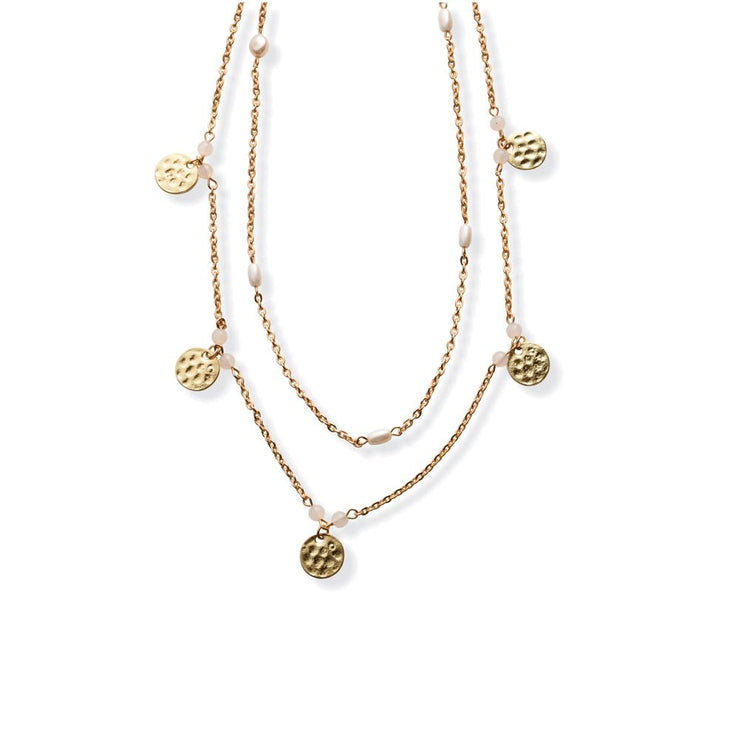 Bedazzled Layered Necklace