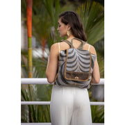 Grey Tranquility Collection Backpack