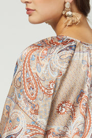 Fall Paisley Dress