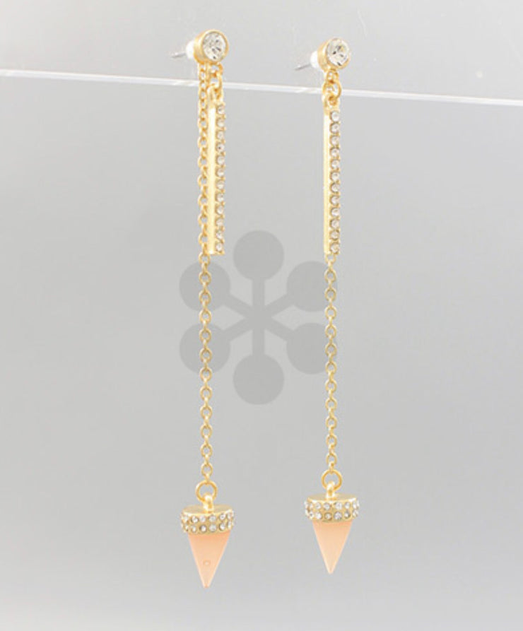 Spike & Bar Earrings