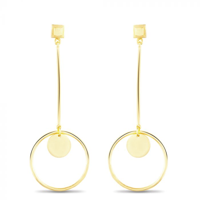 Corona Drop Earring