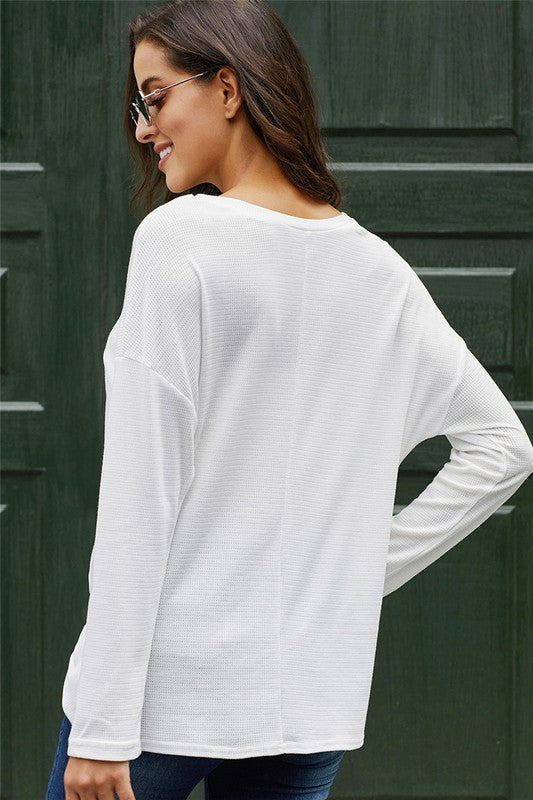 White Out Tunic/+