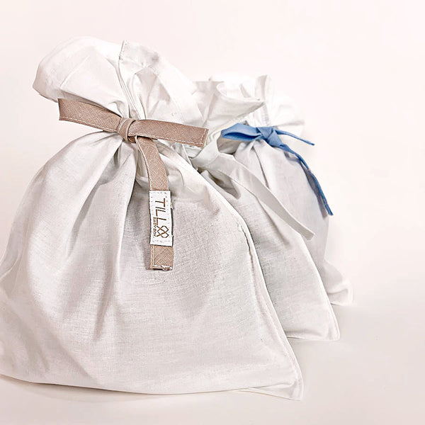 3x Multipack - Recycled cotton bags