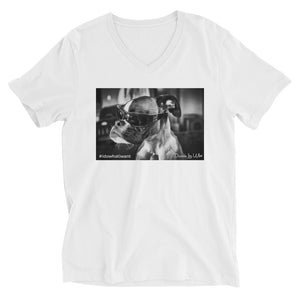 Duncan Lou Who V-Neck T-Shirt