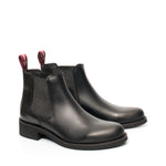 Van Velze & Smith Short Black Chelsea Boots