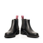 Chelsea boot with round toe