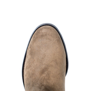 classic round toe chelsea boot