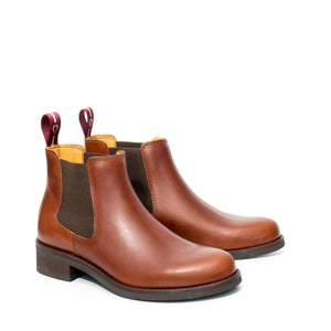 Van Velze & Smith Short Tan Chelsea Boot