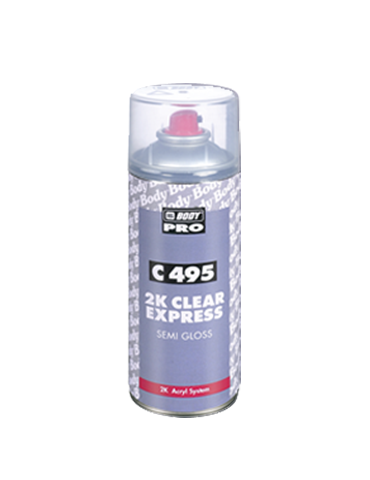 SPRAY C495 2K CLEAR SEMI GLOSS