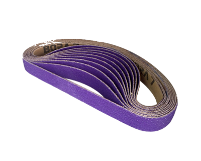 Lg. Ceramic Sanding Belts (20mm x 520mm) P60