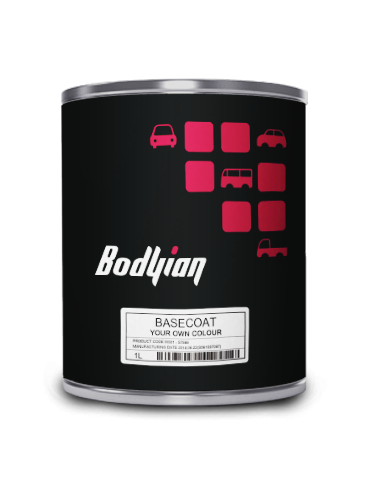 Bodyian Mixed Colour Basecoat 1000ml
