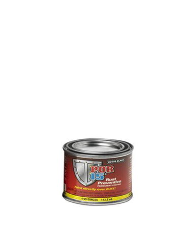 POR15 Gloss Black Rust Preventive 4oz (113.6mL)