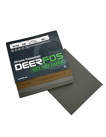 Deerfos AC768 P220 Wet & Dry 100ea/Box