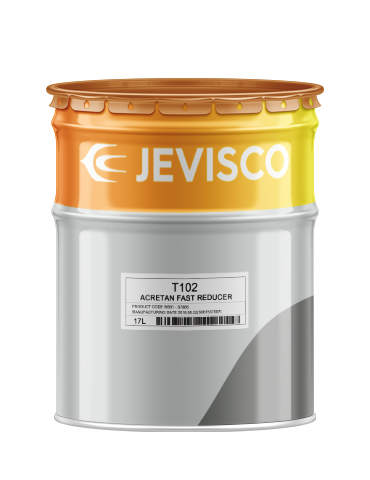 JEVISCO T102 Acretan FAST REDUCER 17Lt/Can