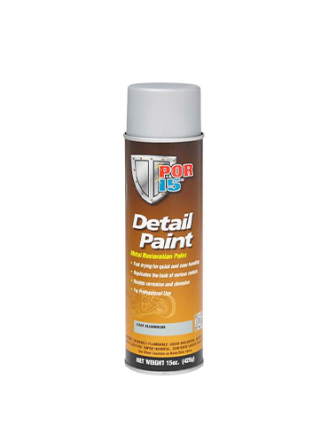 POR15 Detail Paint Cast Aluminum Aerosol 15oz (425g)
