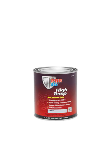 POR15 High Temp Aluminum 8oz 236ml