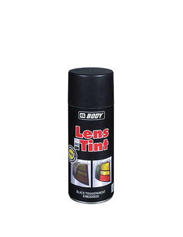 SPRAY BODY LENS TINT BLACK TRANSPARENT 400ml/Can