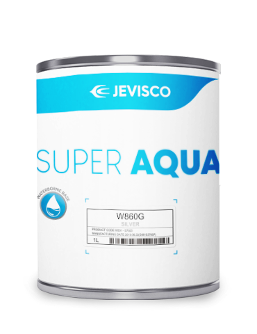 JEVISCO SUPER AQUA W860G Silver 1Lt/Can