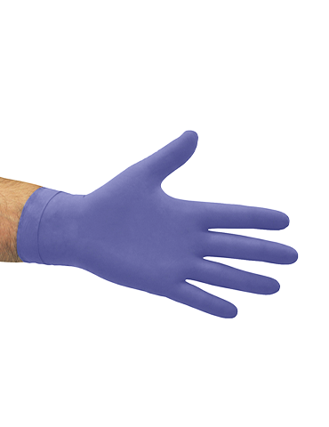 Hi Risk Examination Latex Glove Blue Powder Free Gloves Large 50ea/Box